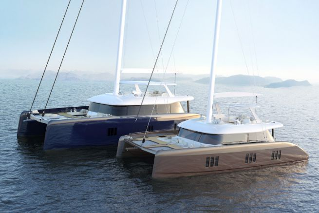 The two new catamarans of the Sunreef Yachts range