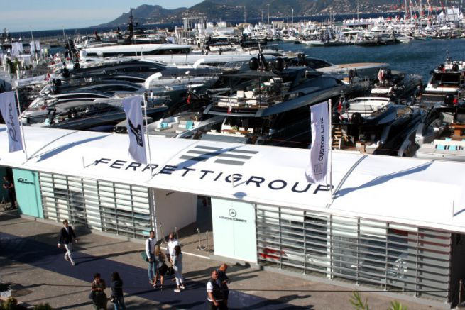 Ferretti at the Cannes Yachting Festival