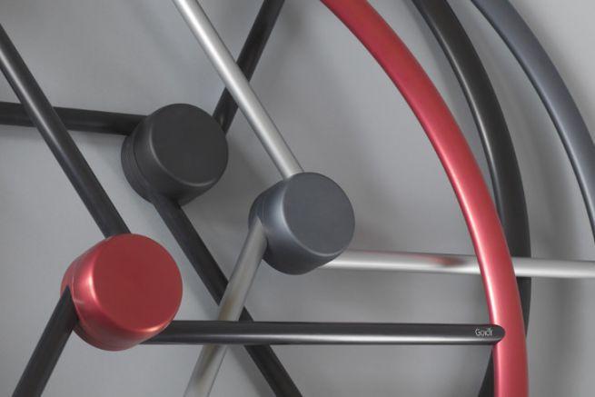 Goiot wheel bars and their colour ranges