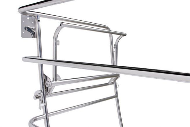 YLTEC stainless steel balcony distributed by TID