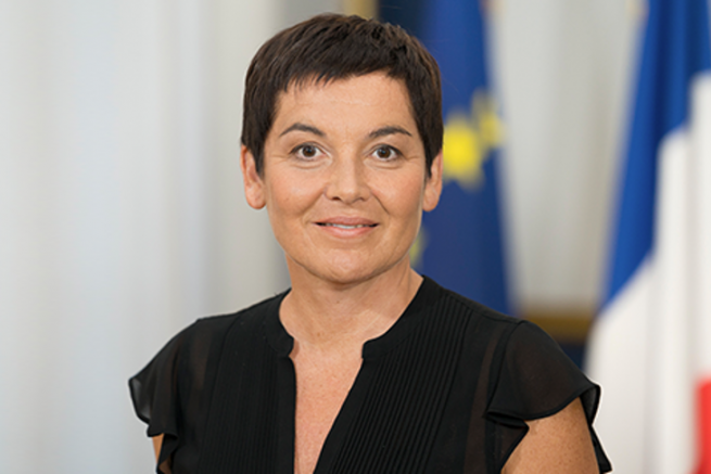 Annick Girardin, the new Minister for the Sea