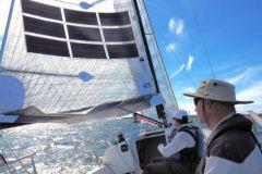 Power Sail on the J88 - Oceanvolt