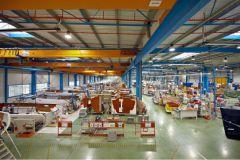 Bénéteau assembly line