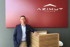 Marco Valle, new director of Azimut Yachts