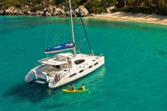 Rental catamaran The Moorings
