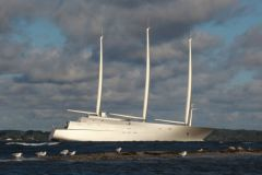 The megayacht A