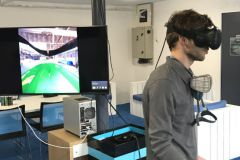 Industrialization test in virtual reality at Sealver for the new Wave Boat 444