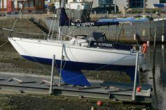Binic marina fairing platform