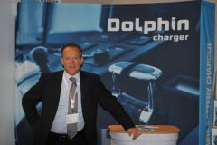 Nicolas Fata, sales manager of Dolphin Charger