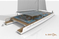 New catamaran Day One, built by TechniYachts Pinta