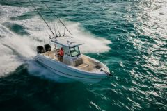 New Brunswick makes a Boston Whaler 250 Outrage available to MIT for its research on the autonomous boat