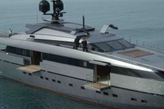 Superyacht of the San Lorenzo shipyard