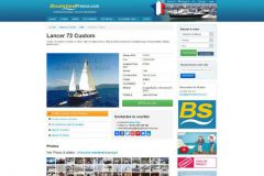 Boatshed, used pleasure craft brokerage site