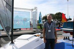 Mathieu Bonnet, CEO of Liteboat