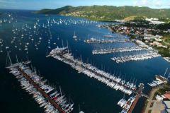 Marin marina in Martinique, Régis Guillemot Charter base