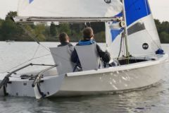 Navigation in RS Venture with the Scanstrut conversion kit for the handivoile