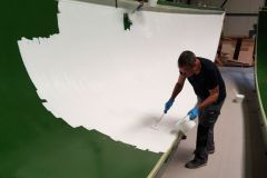 Application of Resoltech 4030W THIX Primer
