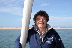 Hakim Rahmoun boss of Olbia shipyard