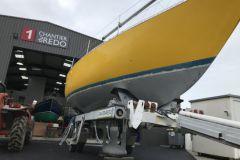 Redo shipyard, boat maintenance at Crouesty