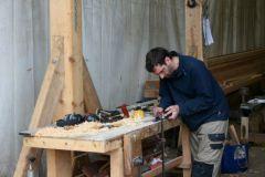 Woodworking at Grigoire Bois Morbihan