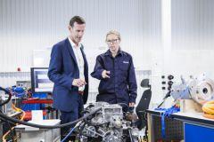 Volvo Penta's electromobility laboratory