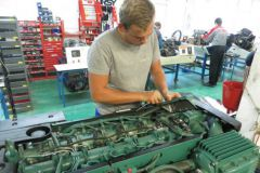 Marine mechanical training at the Institut Nautique de Bretagne (INB)