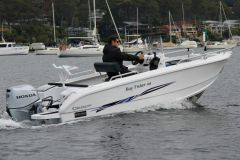 Le 498 Fisher de Morningstar Boats