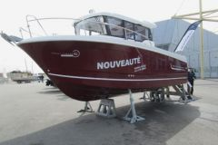 Seven Marine outboard motor at Boot Dusseldorf