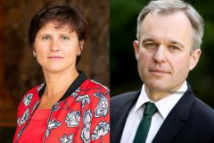 Roxana Maracineanu and François de Rugy, the new ministers in charge of yachting and water sports