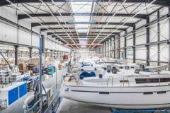 Bavaria boat factory in Giebelstadt