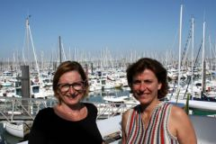 Olivia Eidenberger and Odile Laborie, new recruits from Nodus Factory
