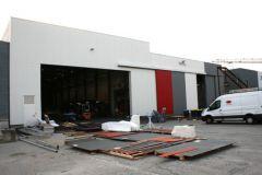 Neel Trimarans' new building