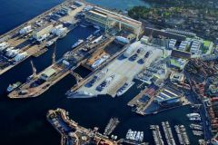 Works project at La Ciotat Shipyards
