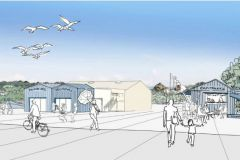 Project for the Diben marina in Plougasnou