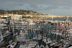 Clouds on the Cannes Yachting Festival 2018