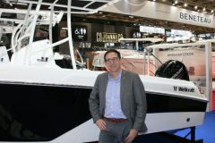 Christophe Lavigne, President of the US brands of the Bénéteau Group