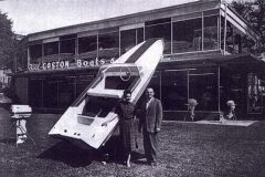 William Gaston in the early years of Glastron powerboats