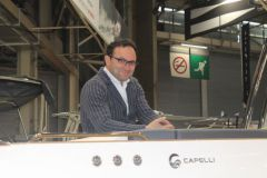 Umberto Capelli, manager of the Capelli shipyard