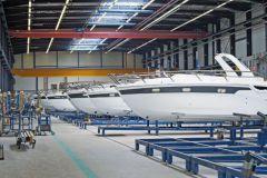 Bavaria Yachts factory in Giebelstadt