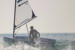 Removable Reverso dinghy, winner of the 1st Sardine Trophy