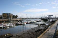 Lorient Centre Ville marina