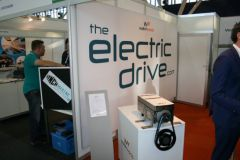 Electric thruster exhibited at METS Amsterdam