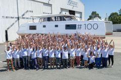 Nautitech Catamarans celebrates its 100th Nautitech 46