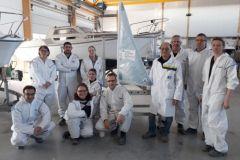 Site visit organised by the Campus des Métiers et des Qualifications du nautisme en Pays de la Loire (Nautical Professions and Qualifications Campus in Pays de la Loire)