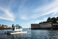 The Plastic Odyssey project was awarded the Maritime Initiatives Award