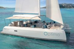 Optimo 40, the new day-charter catamaran from Ocean Voyager