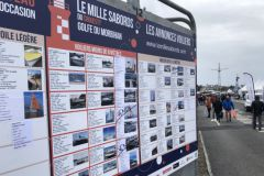 Sailboats for sale at Mille Sabords 2019