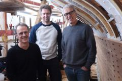Louis Mauffret, Tegwen Mauffret, et Yann Mauffret
