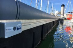 Nauticspot sensor for the supervision of marinas