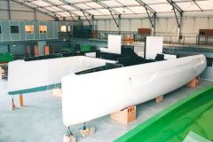 1st Windelo Adventure 50 catamaran under construction